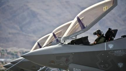 53rd squadron flies first F-35 sortie at Nellis AFB