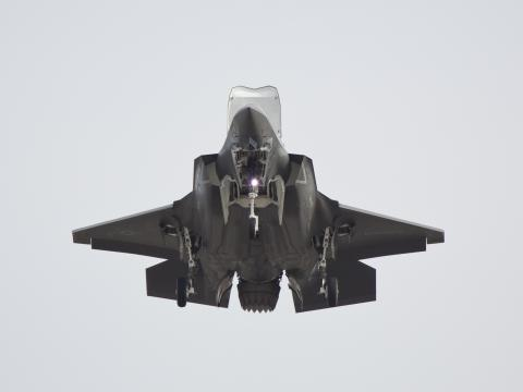 First F-35B Vertical Landing at MCAS Yuma