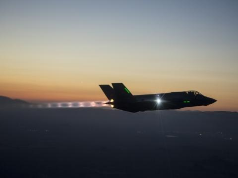 F-35A Night Flight