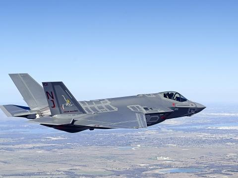 First F-35C Production Aircraft