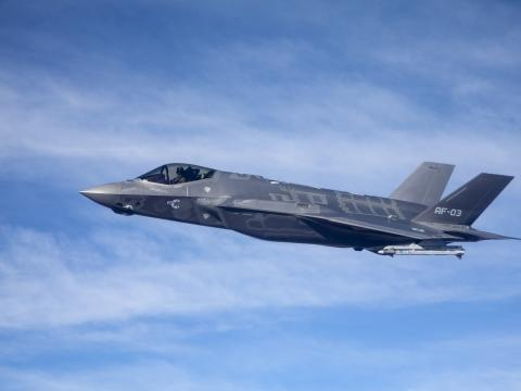 F-35A Flight Test