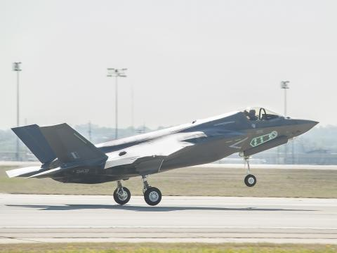 Third F-35B for United Kingdom Makes First Flight