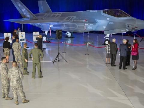 First F-35As Report to Nellis AFB