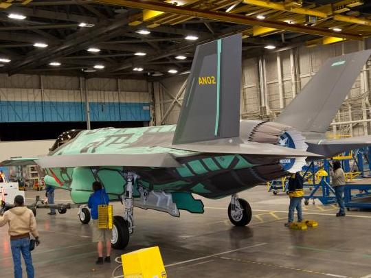 Second F-35 for the Netherlands Rolls Out of Production Facility