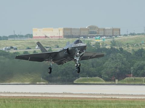 2nd F-35C Takes off for Eglin AFB