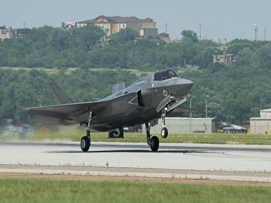 Third U.K. F-35 Takes off for Eglin AFB