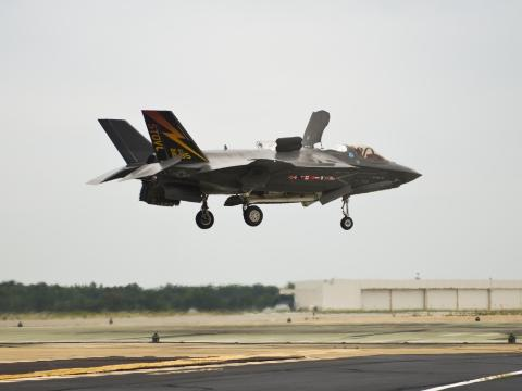 F-35B Completes 500th Vertical Landing