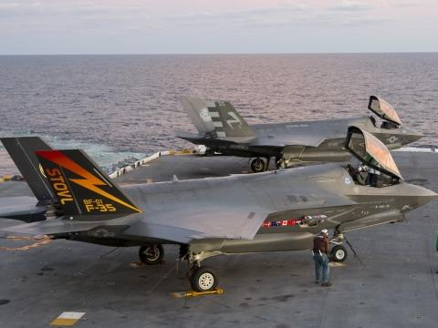 F-35Bs on Deck