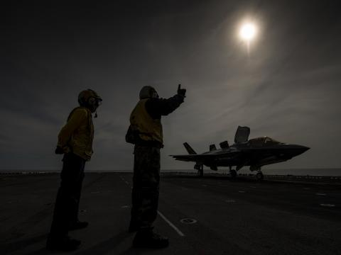 F-35B Operations at Sea