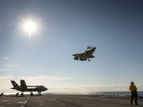 F-35B Ship Trials