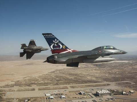 F-35 Flight Test at Edwards AFB