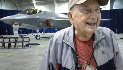 Tale of Two Planes: F-35 Hangar Dedicated to WWII Vets Who Flew P-38