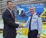 First F-35 for Australia Takes Shape in Fort Worth