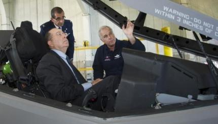 Israeli Minister of Defense Visits Lockheed Martin Aeronautics