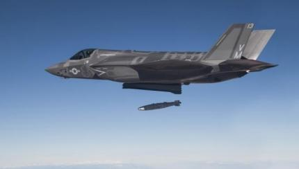 GBU-32 Weapon Delivery Accuracy Test Completes F-35 Lightning II Flight Test Milestone