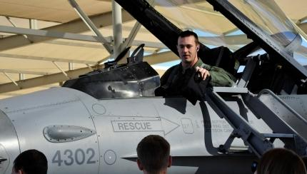 Luke Pilot Selected to Fly F-35