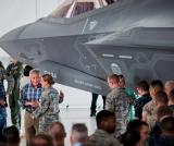 Hagel Talks with F-35 Pilots, Maintainers at Eglin AFB