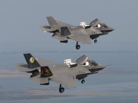 F-35Bs in Mode 4
