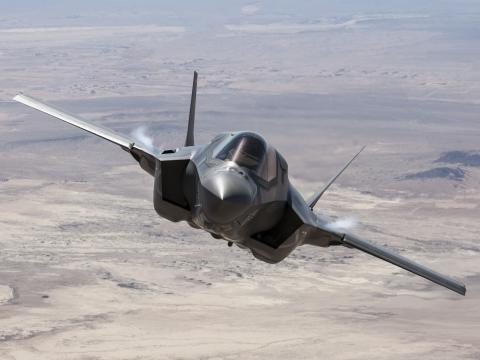 F-35B from the Tanker
