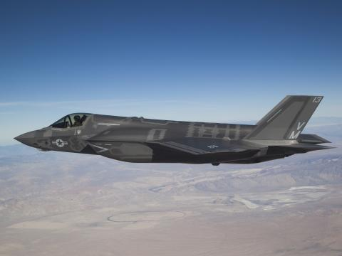 F-35B in Flight