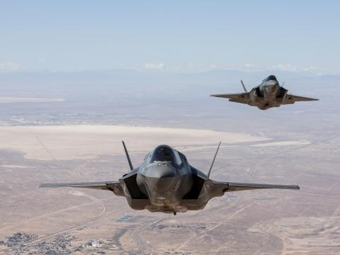 F-35B Formation Flight