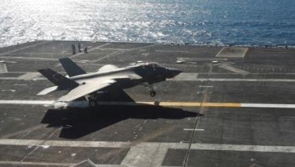 VIDEO and PHOTO GALLERY: F-35C Completes First Arrested Landing aboard Aircraft Carrier