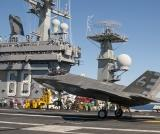 Redesigned Tailhook Tests Well In F-35 Sea Trials