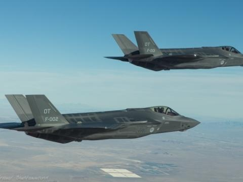 Dutch F-35s Arrive at Edwards AFB