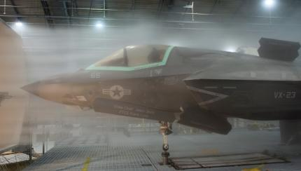 F-35 Lightning II Nears Completion of All-Weather Climatic Testing