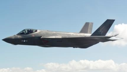 F-35 Shown off at Lemoore Naval Air Station