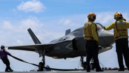 Marines Make Progress with F-35B During OT-1