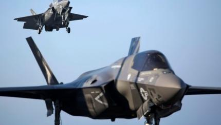 Marine F-35 Pilots Conduct 'Dogfights' During Sea Trials
