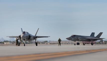 VMFA-121Out on Flight Line and Ready to Fly Off