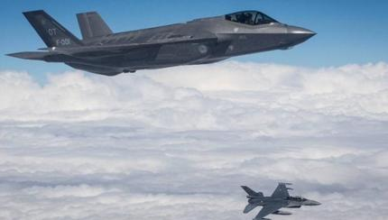 F-35s And F-16s Go Dutch