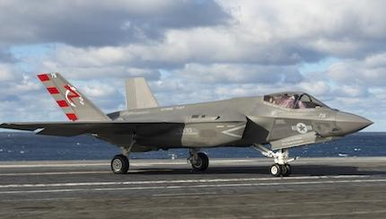 U.S. Navy Expands Test Envelope for F-35C