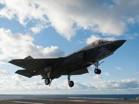 The C at Sea: The F-35 Aboard the USS Dwight D. Eisenhower