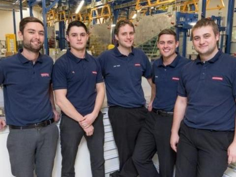 Flying High: BAE Former Apprentices Rise to the Top as Supervisors