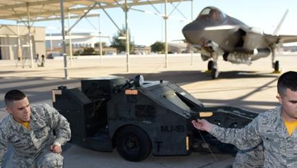 Luke F-35 Competes for First Time in Load Crew Competition