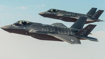 U.S. Air Force Confirms Sending Lockheed F-35 Jets to UK Air Shows