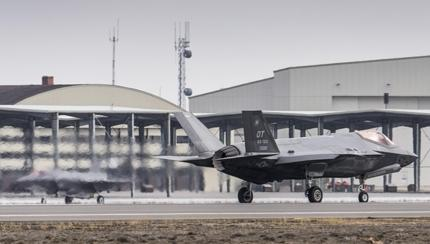 First Simulated F-35A Deployment Conducted at Mountain Home Air Force Base