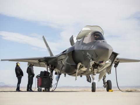F-35B Engine Test Runs at Edwards AFB