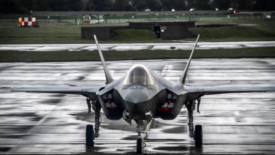 F-35A Lands in the UK