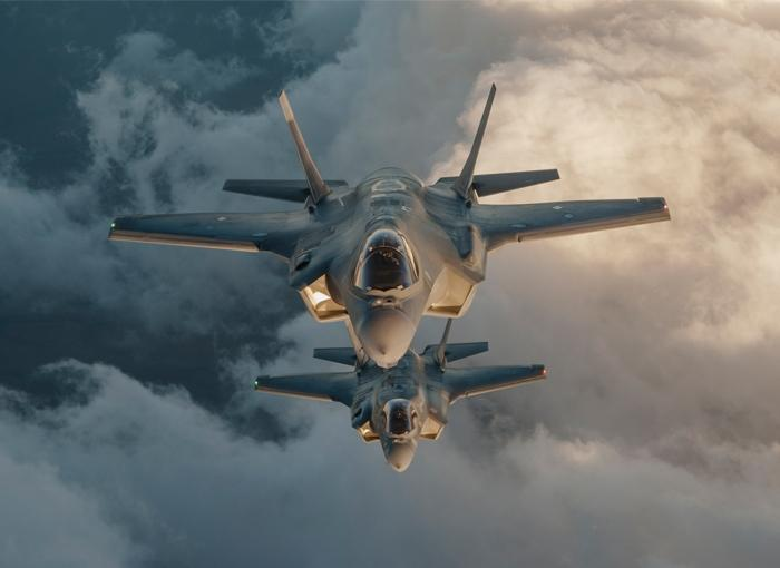 First F-35 Stealth Fighters Arrive In Israel