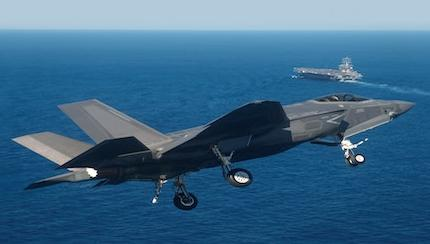 Navy Schedules F-35C for Third Set of Carrier Trials