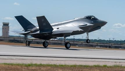 F-35 Touches Down in Canada