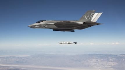 Block 3F Software Aids F-35 Weapons Test
