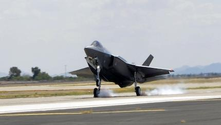 Luke Receives Air Force's 100th F-35 on Heels of IOC Announcement, Unit Activation