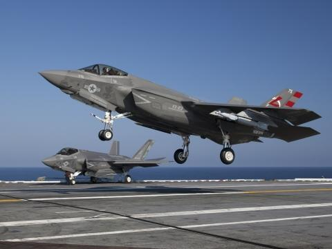F-35Cs during DT-III