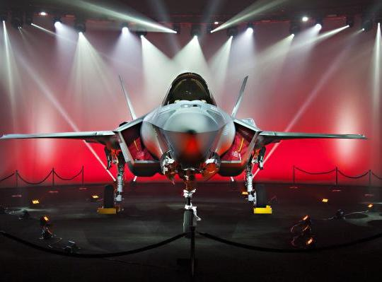 Japan F-35 Rollout Ceremony