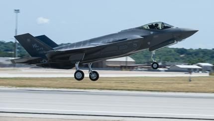 Reservists Help Keep F-35 Stealthy